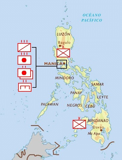 despliegue - The Spanish Army in the Philippines - General Topic